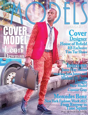World Class Models Magazine with Leon Dewman
