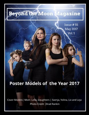 Beyond the Moon Magazine, Poster Models 2017, vol. 1