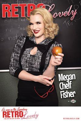 Retro Lovely No.173 – Megan Chelf Fisher Cover Poster
