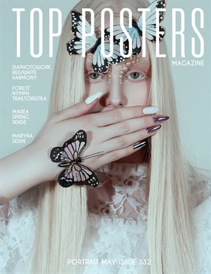 TOP POSTERS MAGAZINE - PORTRAIT MAY (Vol 332)