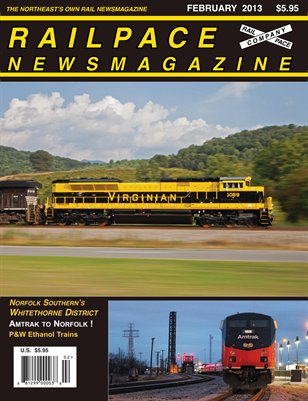 February 2013 Railpace Newsmagazine