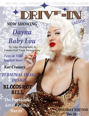Drive-In Magazine Issue 4 Holiday Edition
