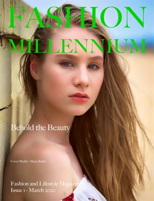Fashion Millennium Model Magazine Edition 1