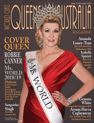 World Class Queens of Australia Magazine Issue 2 with Robbie Canner