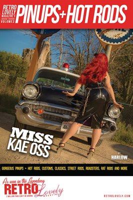 Pinups + Hotrods Volume 3 – Miss Kae Oss Cover Poster