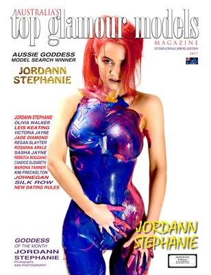 Spring Edition Australia's Top Glamour Models Magazine International Edition