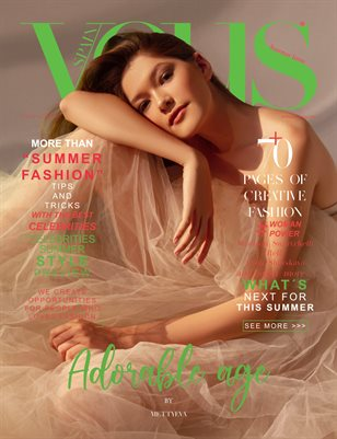 VOUS Magazine | The July Fashion & Beauty Edition | Vol.10 | 2021
