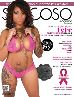 Succoso Magazine Triple Issue #17 featuring Cover Model FeFe
