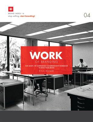 The Work of Branding | stop selling. start branding! workbook