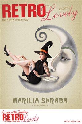 Marilia Skraba Halloween Cover Poster