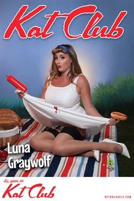 Kat Club No.48 – Luna Graywolf Cover Poster