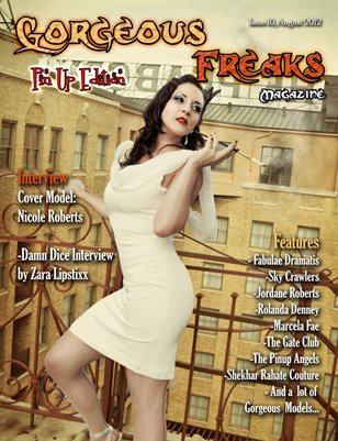 "Issue 10 ""Pin Up Edition"" FEMALE COVER"