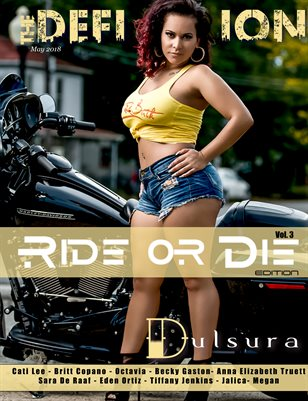 The Definition Magazine: Ride or Die Vol.3 Dulsura Cover