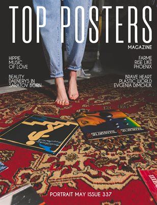 TOP POSTERS MAGAZINE- PORTRAIT MAY (Vol 337)