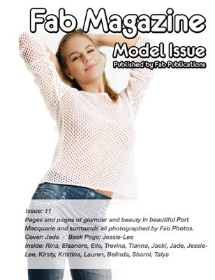 Fab Magazine Model Issue 11