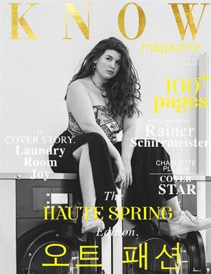 KNOW Magazine HAUTE SPRING Spécial Édition Vol. 6 April 2021_LR