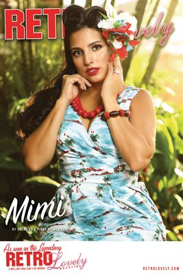 Retro Lovely No.160 – Mimi Cover Poster