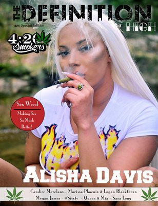 The Definition of High: The Chronic issue 1: Alisha Davis cover