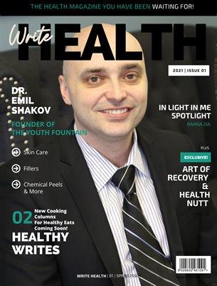 Write Health Magazine, Issue 1