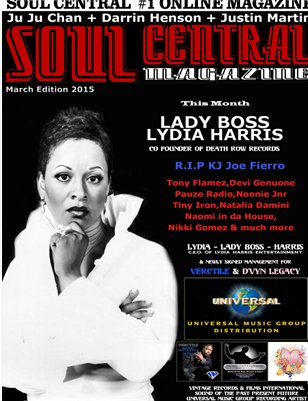 Soul Central Magazine March Edition 2015