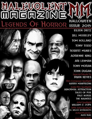 Malevolent Magazine LEGENDS OF HORROR October 2015