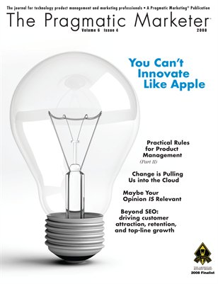 The Pragmatic Marketer: Volume 6 Issue 4