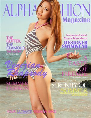 Fashion & Swimwear Volume.8 Issue#9 - (Swimwear Cover)