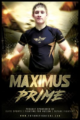 Maximus Jolly Gold Rocks Poster