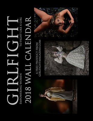 GIRLFIGHT Magazine 2018 Wall Calendar