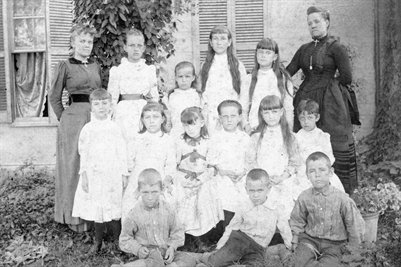 Miss Laura & Nannie Dodd's Private School Sept. 1, 1890