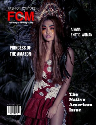 "Fashion Couture Magazine ""Native American Issue"" Vol.2 No.8"