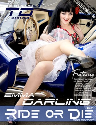 The Definition:  Emma Darling Ride or Die Car Edition Vol. 2 Cover 2