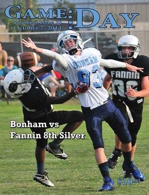 Volume 4 Issue 21- Bonham vs Fannin 8th Silver