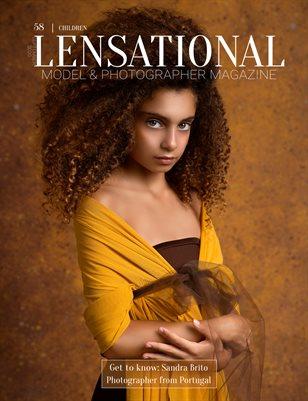 LENSATIONAL Model and Photographer Magazine #58 Issue   Children - September 2020