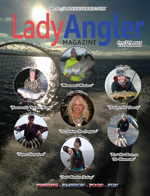 Lady Angler Magazine March April 2014