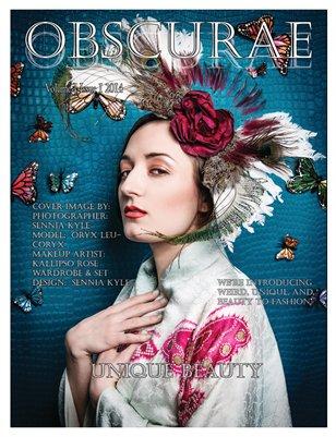 Obscurae Magazine Volume 1 Issue 1