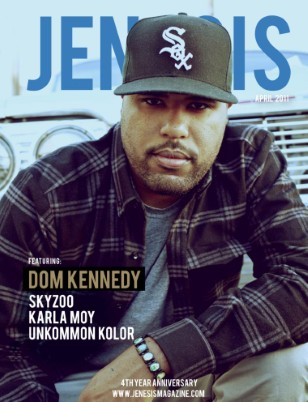 JENESIS 4th Anniversary Issue Feat Dom Kennedy