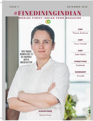 December 2018 Issue 9 - Fine Dining Indian Food Magazine