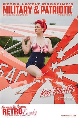 Patriotic & Military 2021 Vol.2 – Kat Deville Cover Poster