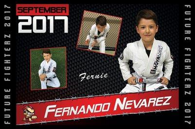 Fernando Nevarez Cal Poster 2017