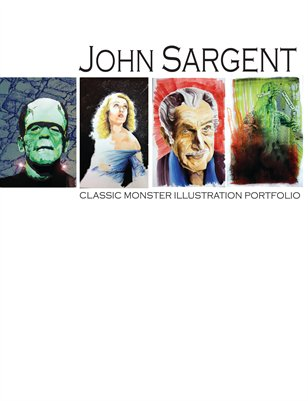 John Sargent Classic Monster Illustration Portfolio