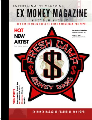 Ex Money Magazine Starring Von Poppi
