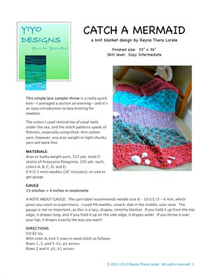 Catch a Mermaid Blanket