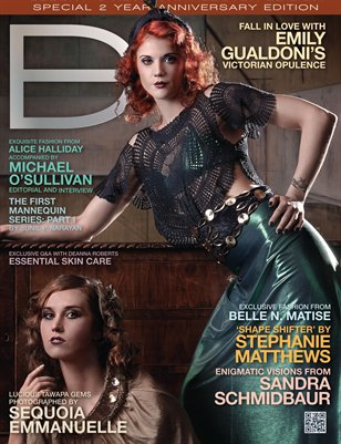 Dark Beauty Magazine - ISSUE 12 - Fall '12