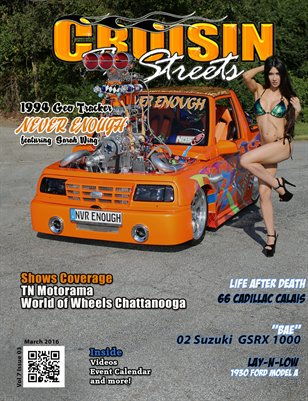 Cruisin' the Streets March 2016 Issue