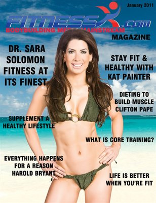 FitnessX.com Magazine January 2011