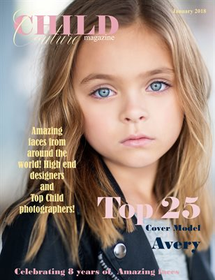 Child Couture Magazine Top 25 2018
