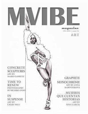 MVIBE Magazine October 2021 issue 34 Art
