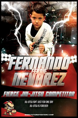 Fernando Nevarez Lightning Strikes - Poster