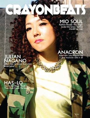 CrayonBeats Magazine: Issue 01 (Mio Soul cover)